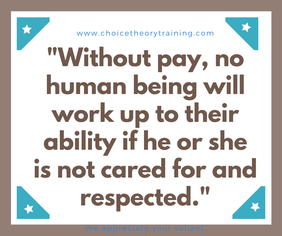 Respect in workplace