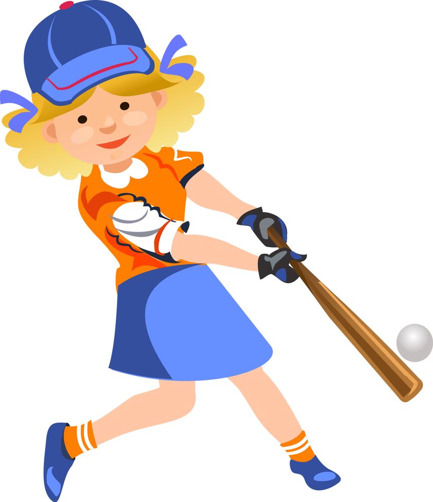 Girls Don't Play Baseball!