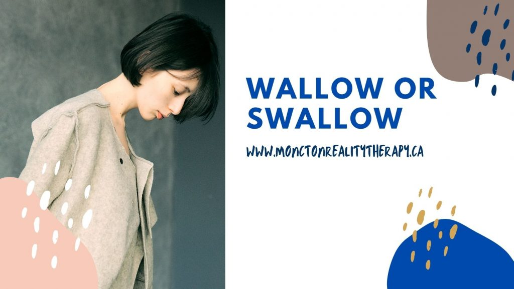 Wallow or swallow